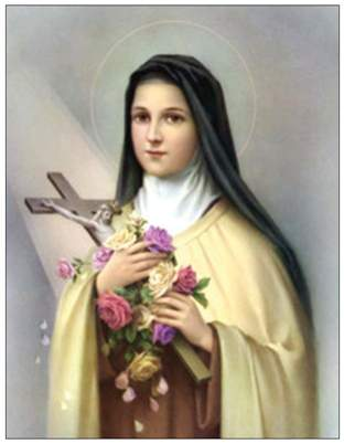 October 1, Feast of St. Therese of Liseux by Fr. Greg Vega